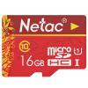 Карта памяти Netac 16G Class10 Карта памяти TF (micro-SD) Карта памяти флюорит ezviz камера видеонаблюдения выделенная карта памяти micro sd карта tf 64gb class10 hai kangwei как бренд