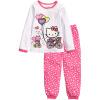 Детская одежда Комплекты для младенцев мальчиков пижамы костюмы для девочек Одежда Комплекты пижамы Дора / котенок / пижамы 100% хлопок рубашки набор + брюки пижамные комплекты