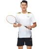 Kawasaki Кавасаки мужские случайные короткими рукавами футболки рубашки свободно дышащая одежда для бадминтона спортивной черный ST-16192 3XL рубашки футболки для детей