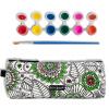 kinbor холст сумки карандаш творческих канцелярских мешок (подавая перо / акриловая краска цвета 6) / секретный сад DTB05002 чехол для iphone 6 глянцевый printio сад на улице корто сад на монмартре ренуар