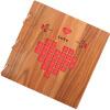[Супермаркет] Jingdong золотой дерево факел в альбоме альбом альбом аксессуары творческие подарки практичные отправить подарок ЛЮБОВЬ свадебный стиль футболка с полной запечаткой  женская