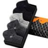 Супермаркет] [Jingdong чувак (PLAYBOY) 2411 коробка подарка 5 пар дышащей сетки спортивные носки M M M носки, мужские носки темно-серый темно-серый 2 2 1 Размер носки kross prs tall размер m черный t4cod000275mbk