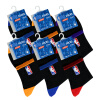 NBA баскетбол носки мужские носки случайные носки эластичные носки хлопок носки установлены 6 пар носки кармен носки