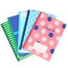 Nakabayashi японский импорта наклонить перекрестную логику матрицы настоящего B5 / 30 Page Line степлера / Блокнот / мягких рукописи B530-U8-5P (5 Этого пакет) зонты page 8