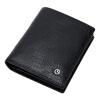 Goldlion (Goldlion) новый мужской кожаный бумажник мужской кошелек Бизнес бумажник простой черный сечение A721001-211 бумажник мужской в днепропетровске в мост сити