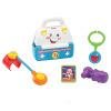 Фишер (Fisher Price) многофункциональный развивающие игрушки интеллектуальной головоломки игры с кабинетом ребенка медицины (двуязычный) DMW53 развивающие игрушки tolo toys с подвижными элементами