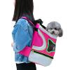 Love домашнее животное HOP мода спортивный мешок плеча мешок домашнее животное собака собака дышащая портативный рюкзак роза красный большой
