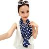 [Супермаркет] Jingdong ожесточенная Гданьск (шведских крон) WSJ161652 небольшой шарф г-жа ретро дикий вогнутую форму многоцелевой шарф шарф шарф теплый дом шарф frantelli шарф