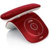 VTE VT2033CN Цифровые беспроводные телефоны Автономные телефоны для телефонов Bluetooth Аксессуары Ретро-внешний вид Домашний офис Беспроводной хост-красный