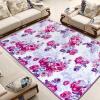 Li семейного дома печати коврики для гостиной комнат входа кабинета спальня столовой коврик клена цветы серия кофе 120 * 170см оборудования для косметологического кабинета