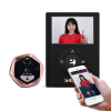 Бессмертный интеллект (eques) R231 электронный кошачий глаз умный кошачий глаз WIFI мобильный детектор интеллектуальная видео дверь кошка кошка глаз кража