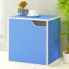 [супермаркет] Jingdong двойной стрелки красочный многоцелевой шкаф хранения книжный шкаф шкаф шкафчики синий SJ-8110