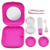 MyMei New Contact Lens Case Travel Kit Mirror Pocket Size Storage Holder Container Hot pocket mini contact lens case