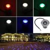 1W LED Водонепроницаемые В Наземный сада Путь Flood Light Пейзаж DC 12V под открытый солнечный приведенный в действие пейзаж пятно света водить двор сада газон путь лампы