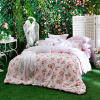Dohia кровати комплекты хлопка саржа двуспальная кровать четыре комплекта - Ирак мечты Ruolan 1,5 метра кровать кровать