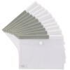 United (Comix) 10 шт EA69 Velcro сумки / бумажные пакеты / комплекты информационных материалов красный
