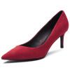 Тан AB150104002 Тан Женские модные обуви с высоким каблуком чёрные тан браун оптом в минске