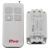 Же (Towe) электрические лампы 220 беспроводного сегмент дистанционного переключателя управления имеет два независимых переключатель дистанционного управления камины электрические