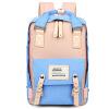 Hong Hyun детей (XIASUAR) женщина старшеклассники мешок большой емкости многофункциональный рюкзак школьный дорожная сумка женский розовый с голубым 9923 пол франк пол франк детский школьный портфель женский вскользь простой розовый рюкзак школьный pky2087b