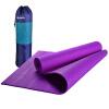 Юпитер (GEPSON) 8MMPVC новичок удобная секция удлиняющая нескользящая циновка для йоги, чтобы отправить рюкзак темно-фиолетовый 183 * 61 см коврик для йоги onerun цвет фиолетовый 183 х 61 х 0 4 см