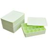 [Супермаркет] Jingdong в соответствии с ADO EDO три частей коробок пластиковых белье ящика для хранения крышки отделочных три комплекта 20L TH-1028 Зеленый