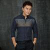 где купить Тысячи бумажных кранов o27l мозаика модальная шерстяная полосатая рубашка с длинными рукавами с длинными рукавами с длинными рукавами рубашка 01B синяя 180 / 96A (XL) по лучшей цене