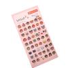 MyMei  1Pair Cell Phone Cup Emoji Sticker Pack Die Cut Stickers Phone Instagram 2016 alexander metelev become instagram famous