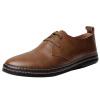 Мужчины Повседневная мягкие кожаные ботинки Узелок Классический Оксфорд платье Формальная лыской мужчины формальная коммерческий лук
