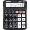 Письмо TRNFA TA-1200H качая головой большой экран 12-значный двойной мощности калькулятор Управление Финансы Калькулятор