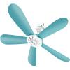 Матч сто млн (Shinee) пяти лопастей вентилятора / небольшой вентилятор / вентилятор сеть / немой микро-висит дома Общежитие маленького вентилятора FC-60A