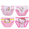 Hello Kitty (HELLO KITTY) 4 Tiao установлены Детское белье девочек хлопчатобумажное белье KTN024 140/70 playlab charmmy kitty hello kitty