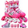 Трек обувь полный набор Пумы детские коньки роликовые коньки роликовые коньки код Kung Fu Panda MZS757 розовый M код коньки
