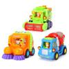 Villo игрушка (HUILE TOYS) модель автомобиля образовательной инерция автомобиль игрушка для детей, работающих модель команды небьющегося Мультфильм DS102 (случайный цвет) игрушка