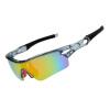 Ocei osagie ig912 наружные спортивные охранники верховая езда очки против ветра песок поляризованный свет горные велосипедные очки с близорукими очками рыболовные очки наружные солнцезащитные очки прозрачный серый