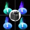 Погружной насос с 12 Цветные светодиодные для аквариума фонтан гидропоники