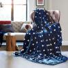 (Byford) одеяло толстое коралловое бархатное одеяло двойное осеннее и зимнее сон покрытие для кондиционирования воздуха одеяло было фланелевым одеялом 2 * 2,3 м звезда одеяло зимнее