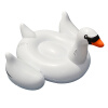 MyMei White Summer Lake Swimming Water Pool Kids Rideable Swan Inflatable Float Toy inflatable giant pegasus floating rideable swimming pool toy float raft floating row white swan floating row for holiday water