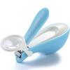 777 кусачки для ногтей детские ногти ножницы детские кусачки для ногтей кусачки для ногтей с увеличительным стеклом функция сбора гвоздей N-939BK синий (импорт)