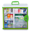 Longxing (Glosen) B8029 алюминиевый большой настенный ящик для хранения домашней аптечки первой помощи зеленого longxing glosen b016 3 алюминиевый комплект двойной помощи 16 дюймов семейной медицины шкаф хранения коробка