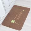 Ли семьи дома носить пылевые коврики коврики коврики не скользят гостиная спальня кухня столовая HOME Cengceng MAT серый дом 50 * 80 см развивающие коврики ebulobo мишка