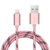 все цены на BIAZE Apple, 7/6 / 5s розовое золото 1,2 м Данные телефонные линии зарядный кабель линии электропередачи поддержка iPhone5 / 6s / 7P / SE / Ipad воздушный мини-S1 онлайн