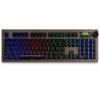 Black MG (AJAZZ) AK60 sidetap ореол сплава RGB полноцветные зеленой оси механические клавиатуры подсветка игровой ноутбук офис цифровая клавиатура