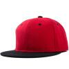 [Супермаркет] Jingdong ожесточенная Гданьск (шведских крон) MMZ160064 г-жа мужчин Корейский заклинание цвет бейсболки по улице танцевальной хип-хоп шляпа квартире краёв черный + красный