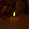Электронные солнечных батареях Пластиковые светодиодные лампы ночник свечи партии Декор