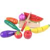 Троянская лошадь мудрость фрукты и овощи Cheer музыка дети головоломка семейная игрушка кухня сцена интерактивные игрушки