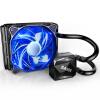 (SAMA) 120 охладителя процессора (двойной платформы / встроенный водяной / керамический подшипник водяной насос / гидравлический вентилятор PWM / тихий / холодный синий свет)