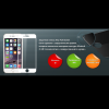 Ainy 2.5D full cover защитное стекло screen protector для iPhone 6/6S белое 0.33mm аксессуар защитное стекло meizu u20 ainy full screen cover 0 33mm white
