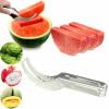 Арбуз вырезать ломтерезки дыня резчик нож фрукты сегментация грунтонос ускусная дыня резание кедр ломтерезки совок