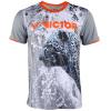 Victor Мужские и женские спортивные футболки для игры в бадминтон