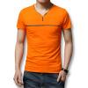 Футболки мужские футболки 2016 лето с коротким рукавом мужчины футболки хлопок V-образным вырезом мужчины футболки 3 цвета вскользь тонкий подходит футболки